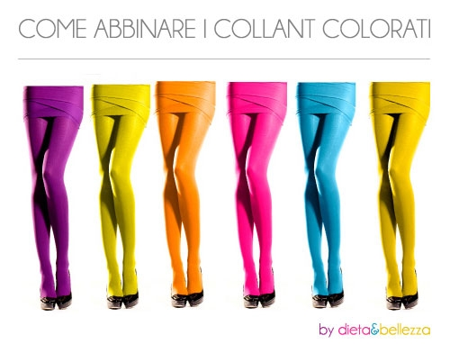 Abbinare i collant colorati