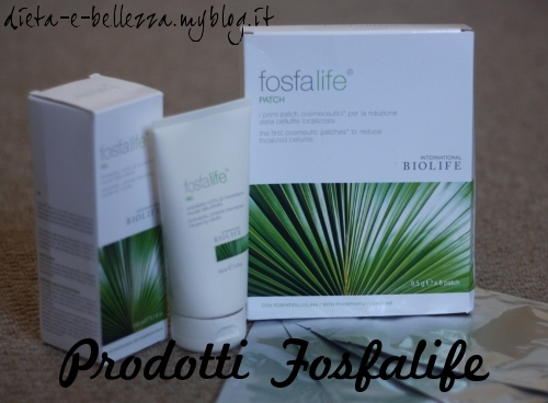 Recensioni Cosmetici: Prodotti Anticellulite Fosfalife by International Biolife