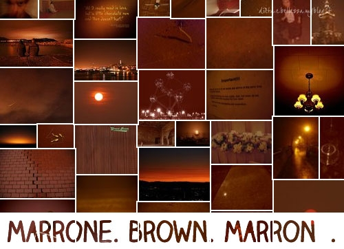 Sunday Colours: Colore Marrone e Canzone Brown Sugar