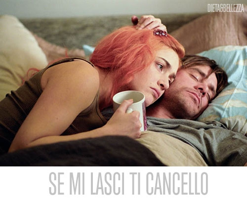 Se mi lasci ti cancello, Jim Carrey, Kate Winslet