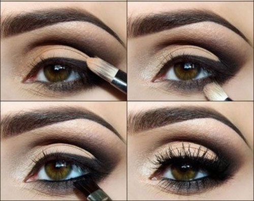 Amato Tutorial Facile Facile per Smokey Eyes da Favola - Dieta&Bellezza MP62