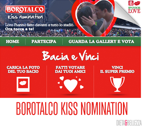 Borotalco Kiss Nomination